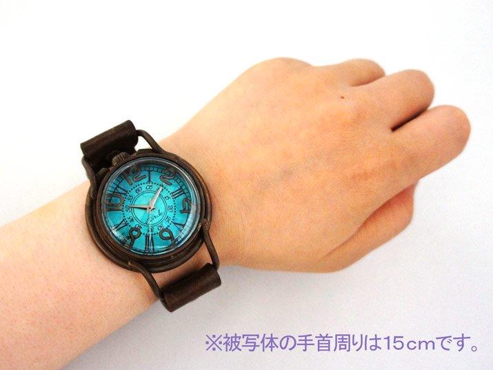 JHA腕時計 Patrice oceanの素材やサイズについて