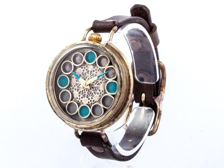 JHA 万華鏡イメージ腕時計