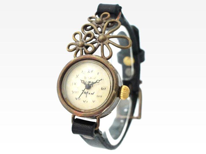 JHA クラシックフラワー腕時計