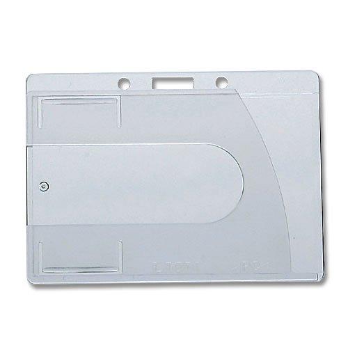 1枚用 ハードカードケース(横型/横入式/プレミアムグレードクリスタルクリア仕上)(726-LI)