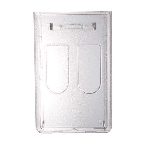 2枚入用 ハードカードケース(縦型/上入れ/つや消し仕上)(706-N2)