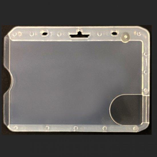 3枚用 ハードカードケース(横型/横入式/つや消し仕上)(SX3H)