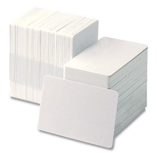 PVC 白無地カード(PVC製 白無地カード)(CV-80 (PVC100%))