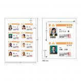 IDFSeal専用印刷シート(はがきサイズ・20名分)