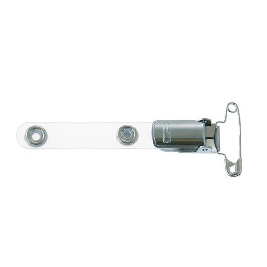 安全ピン付金属クリップ(505-B3NP)【100個セット】