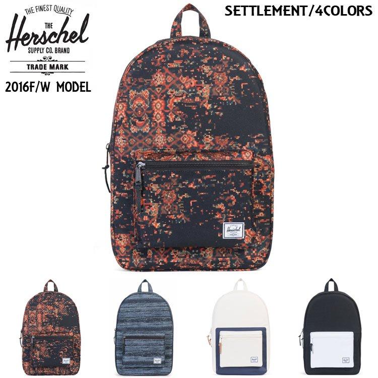 Settlement Backpack / 4カラー [2016F/W]