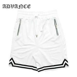 BASKET SHORTS / WHITE×BLACK[ARS-6001]