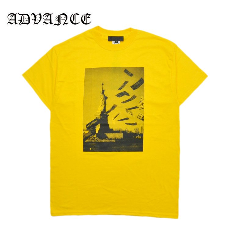 STATUE OF LIBERTY TEE / YELLOW [ARS-6...