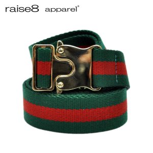 COLOR GI BELT / GREEN×RED [180B-002]