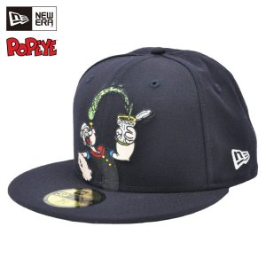 <img class='new_mark_img1' src='https://img.shop-pro.jp/img/new/icons61.gif' style='border:none;display:inline;margin:0px;padding:0px;width:auto;' />59FIFTY POPEYE(R) スピナッチ / ネイビー [11558013]