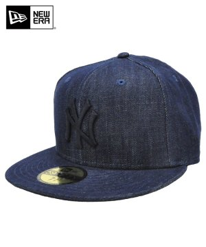 59FIFTY デニム ニューヨーク・ヤンキース / インディゴデニム × ミッドナイトネイビー [11557564]