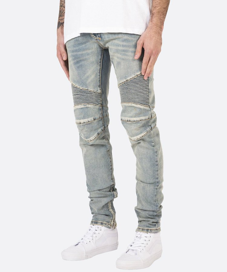 m14 Stretch Denim / ライトブルー