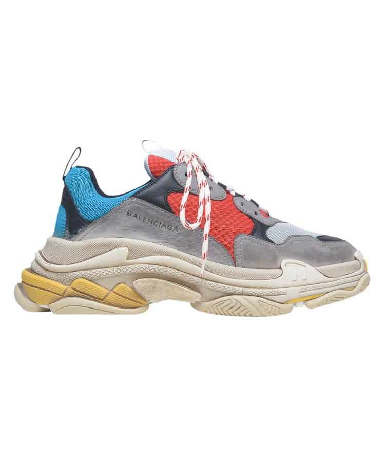 TRIPLE S TRAINERS / ブルー×グリス×レッド