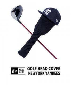 【ゴルフ】 ヘッドカバー ニューヨーク・ヤンキース / ネイビー [11225881]