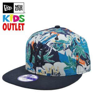 [OUTLET] Kid's Youth 9FIFTY ハワイアン ニューヨーク・ヤンキース / ネイビー [11099565]