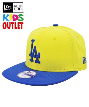 [OUTLET] Kid's Youth 9FIFTY ロサンゼルス・ドジャース / イエロー × ブルー [N0019215]