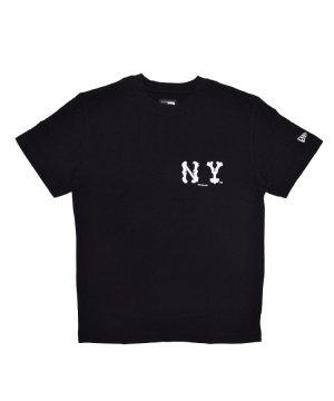 <img class='new_mark_img1' src='https://img.shop-pro.jp/img/new/icons61.gif' style='border:none;display:inline;margin:0px;padding:0px;width:auto;' />コットン Tシャツ MLB / ブラック [11474057]