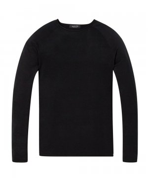 <img class='new_mark_img1' src='https://img.shop-pro.jp/img/new/icons5.gif' style='border:none;display:inline;margin:0px;padding:0px;width:auto;' />Cotton-Cashmere Pullover / ブラック [292-65429]