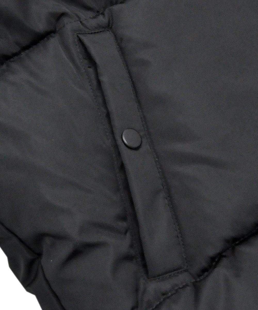 OVERSIZED QUILTED BOMBER JACKET / ブラック