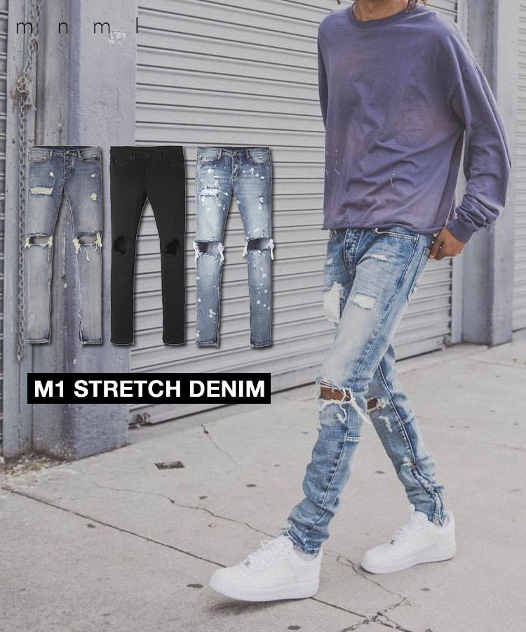 M1 STRETCH DENIM / 5 Colors