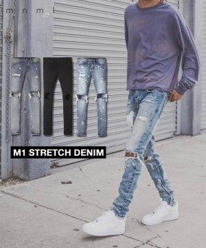 M1 STRETCH DENIM / 5 Colors
