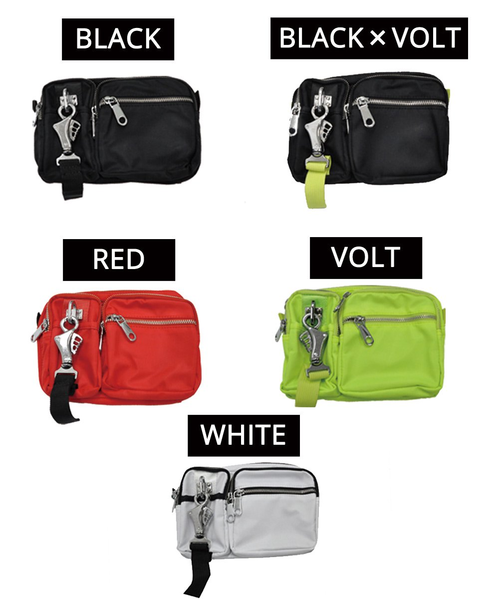 CROSS BODY BAG / 5 Colors