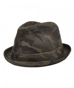 [OUTLET] EK by NEW ERA THE FEDORA カモ / ウッドランドカモ [E0000253]