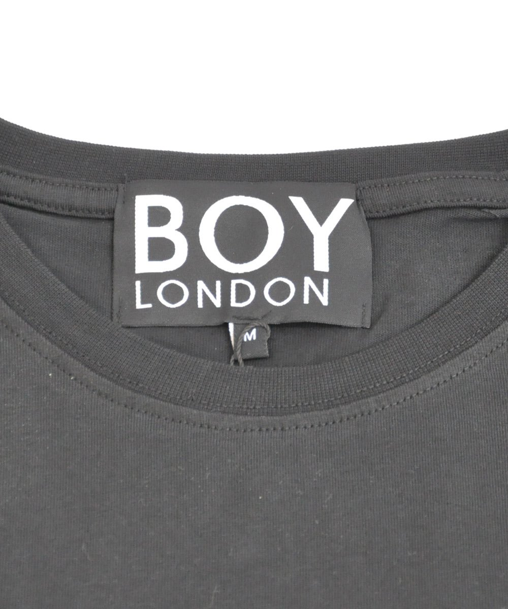 BOY LONDON TEE / ブラック×ホワイト [1014011]