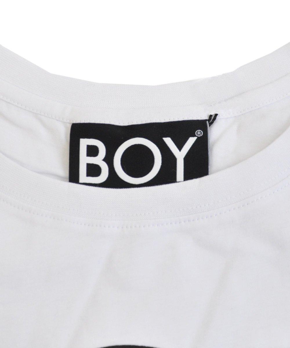 BOY LONDON TEE / ホワイト×ブラック [1015021]