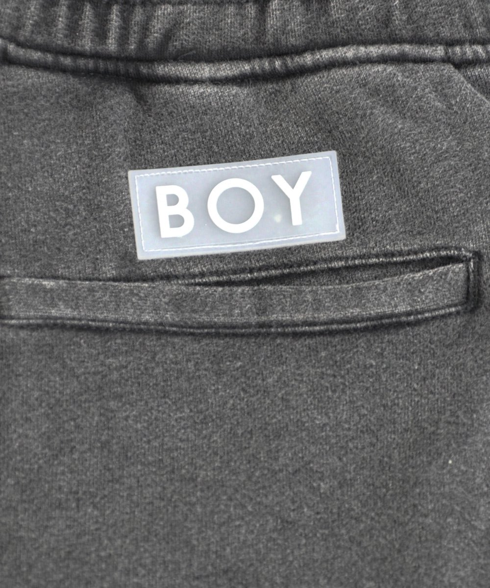 BOY EAGLE GLITCH SHORT / ウォッシュドブラック [BGSHWB002]