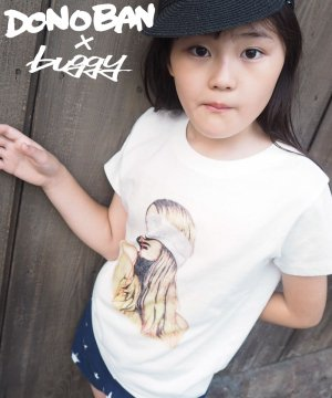Blindness Tee KIDS DONOBAN×buggyコラボ