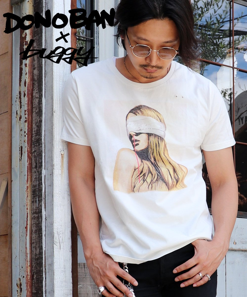 Blindness Tee MENS DONOBAN×buggyコラボ
