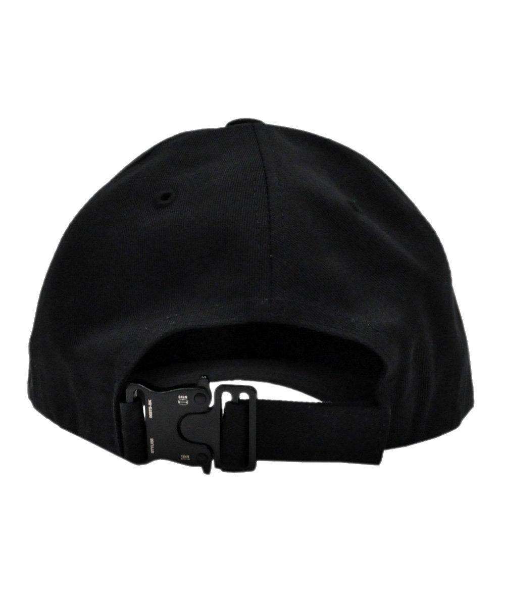 BASEBALL CAP with BUCKLE / ブラック×ブラック