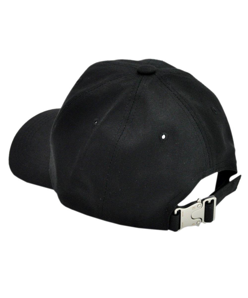 BASEBALL CAP with BUCKLE / ブラック×シルバー