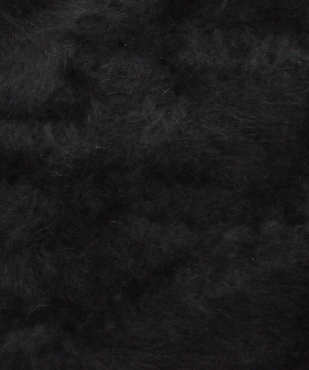 ANGORA CARDIGAN / ブラック [SLA-M2063KW]