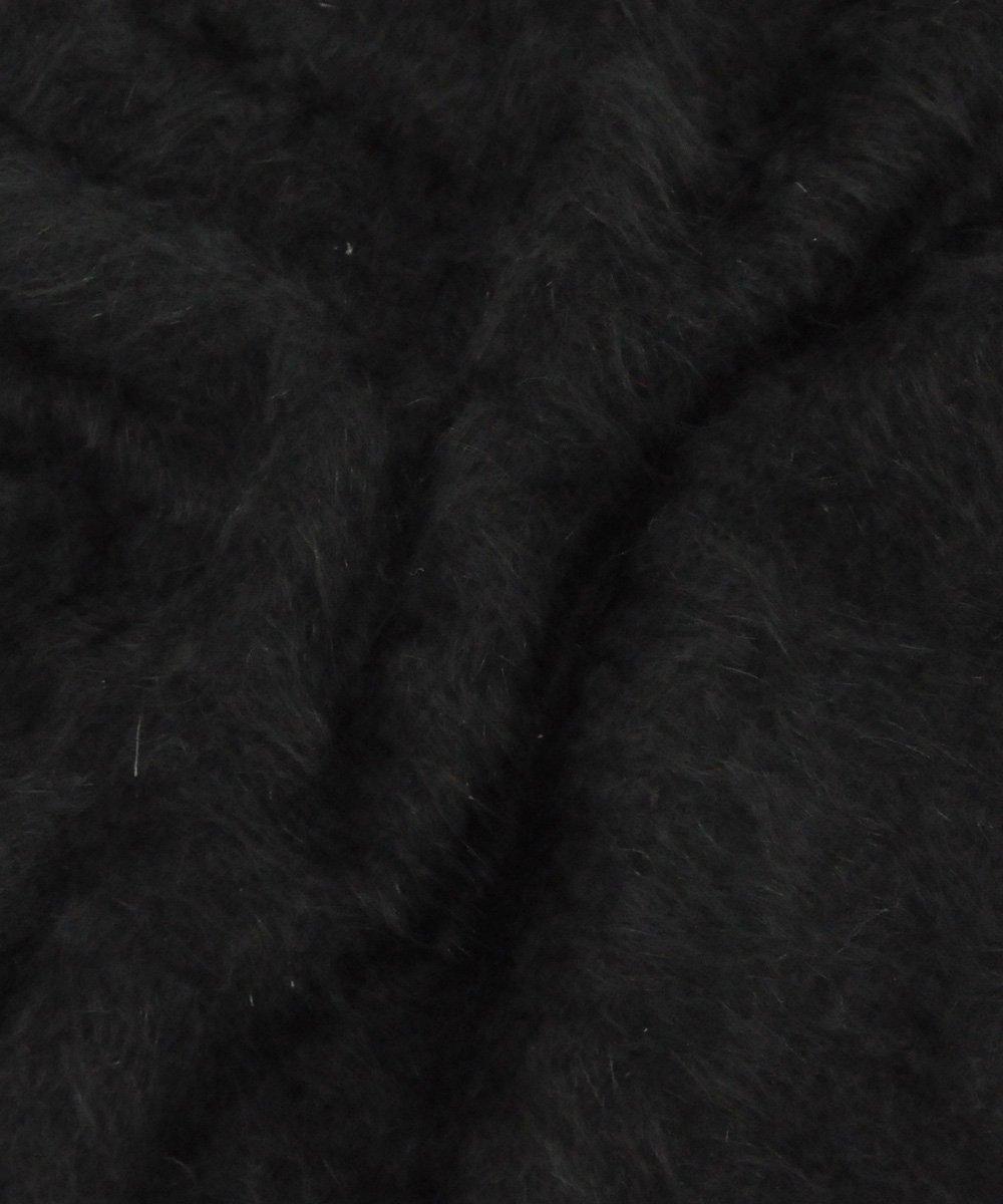 ANGORA CREWNECK / ブラック [SLA-M2064KW]