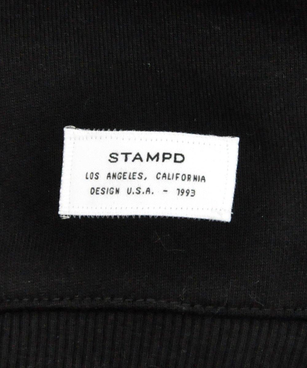 STRAPPED HOODIE / ブラック [SLA-M2086HD]