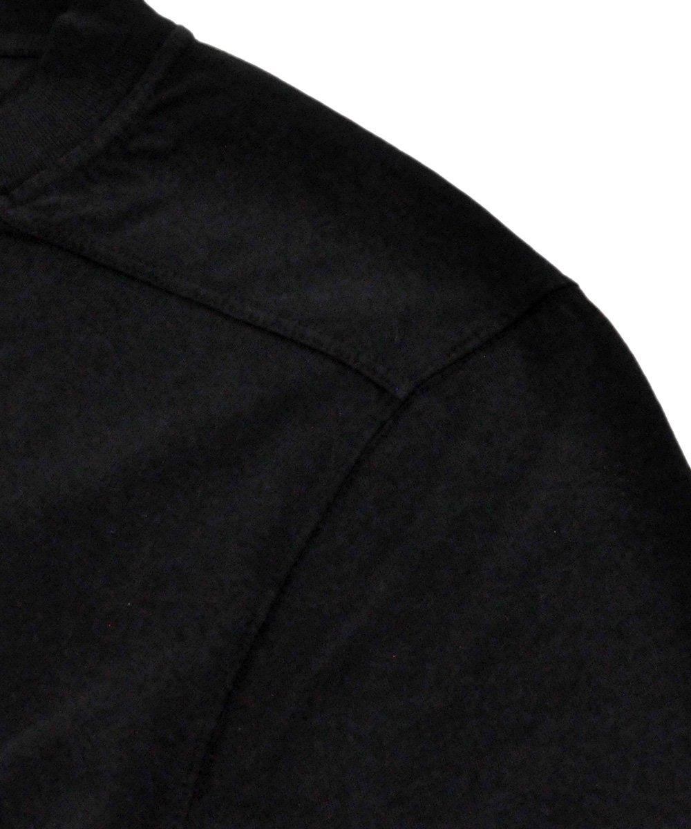 KNIT T-SHIRT - LS CREW LEVEL / ブラック [DU19F6268 RN]
