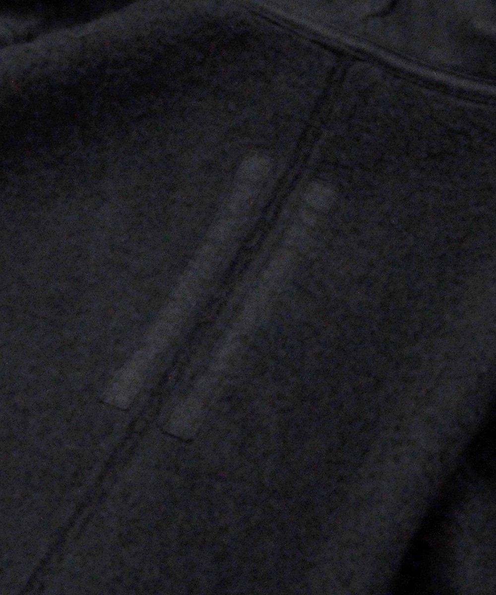 WOVEN SWEATSHIRT - MOUNTAIN HOODIE / ブラック [DU19F6286 FEH3]