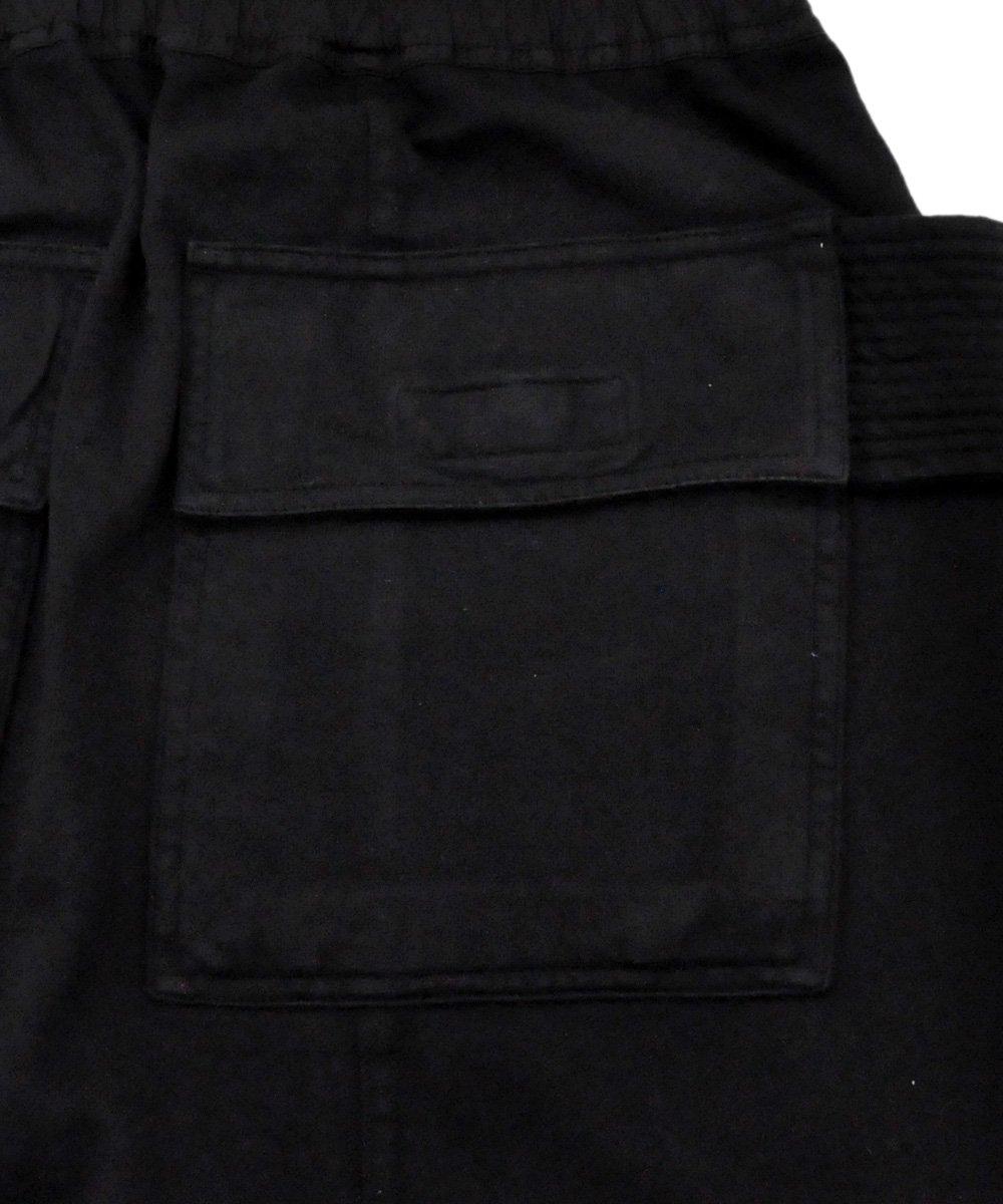 KNIT PANTS - CREATCH CARGO PODS / ブラック [DU19F6386 RIG]