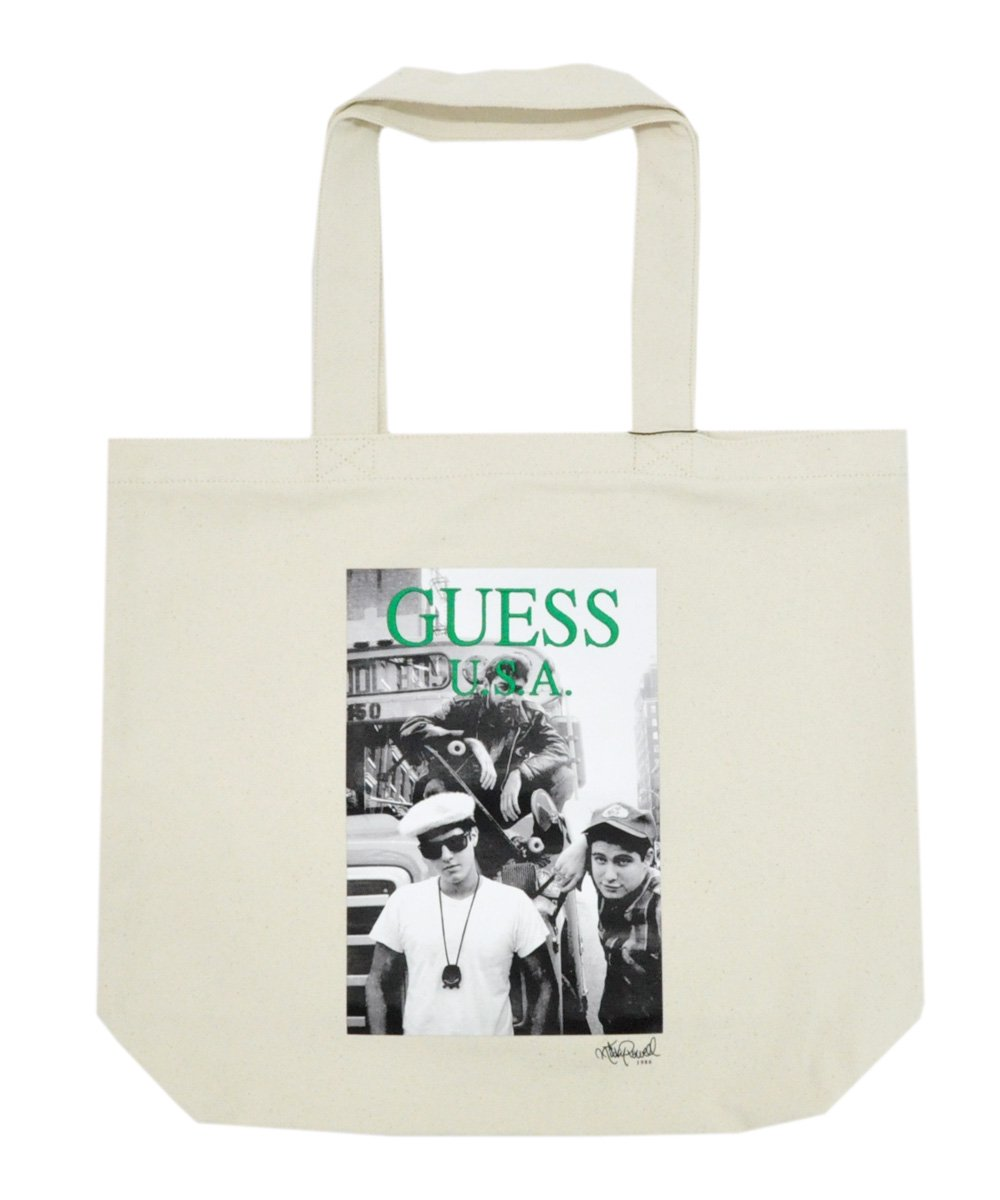 BEASTIE BOYS PHOTO 1 TOTE BAG / アイボリー [AJ3A8964RP]