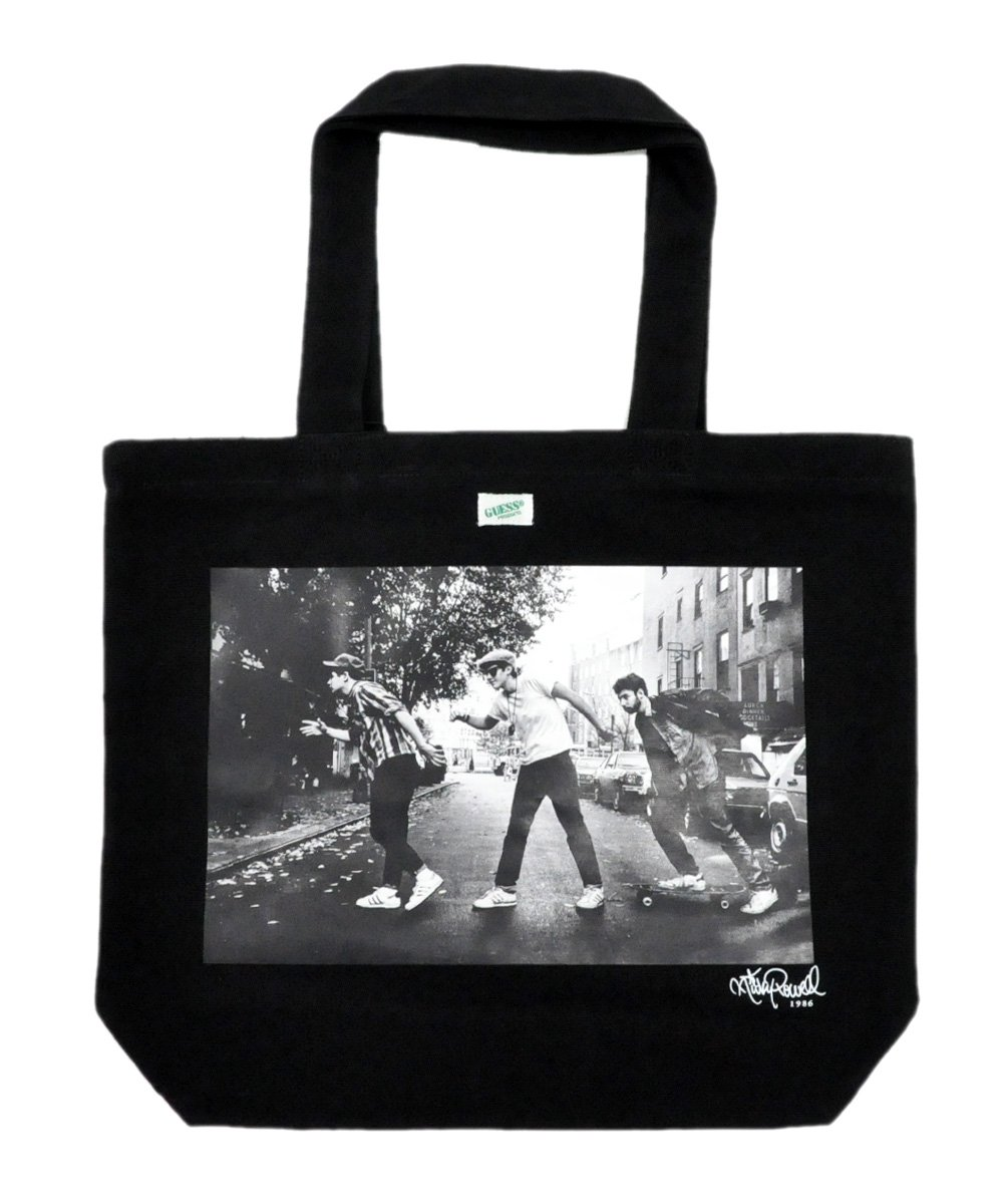 BEASTIE BOYS PHOTO 3 TOTE BAG / ブラック [AJ3A8974RP]