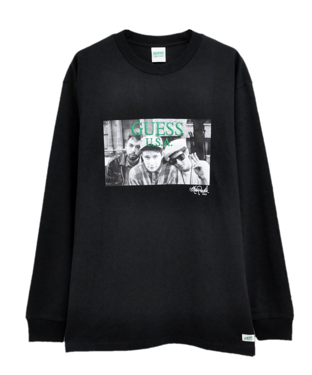 BEASTIE BOYS PHOTO 2 LS TEE / ブラック [MJ3K8966RP]