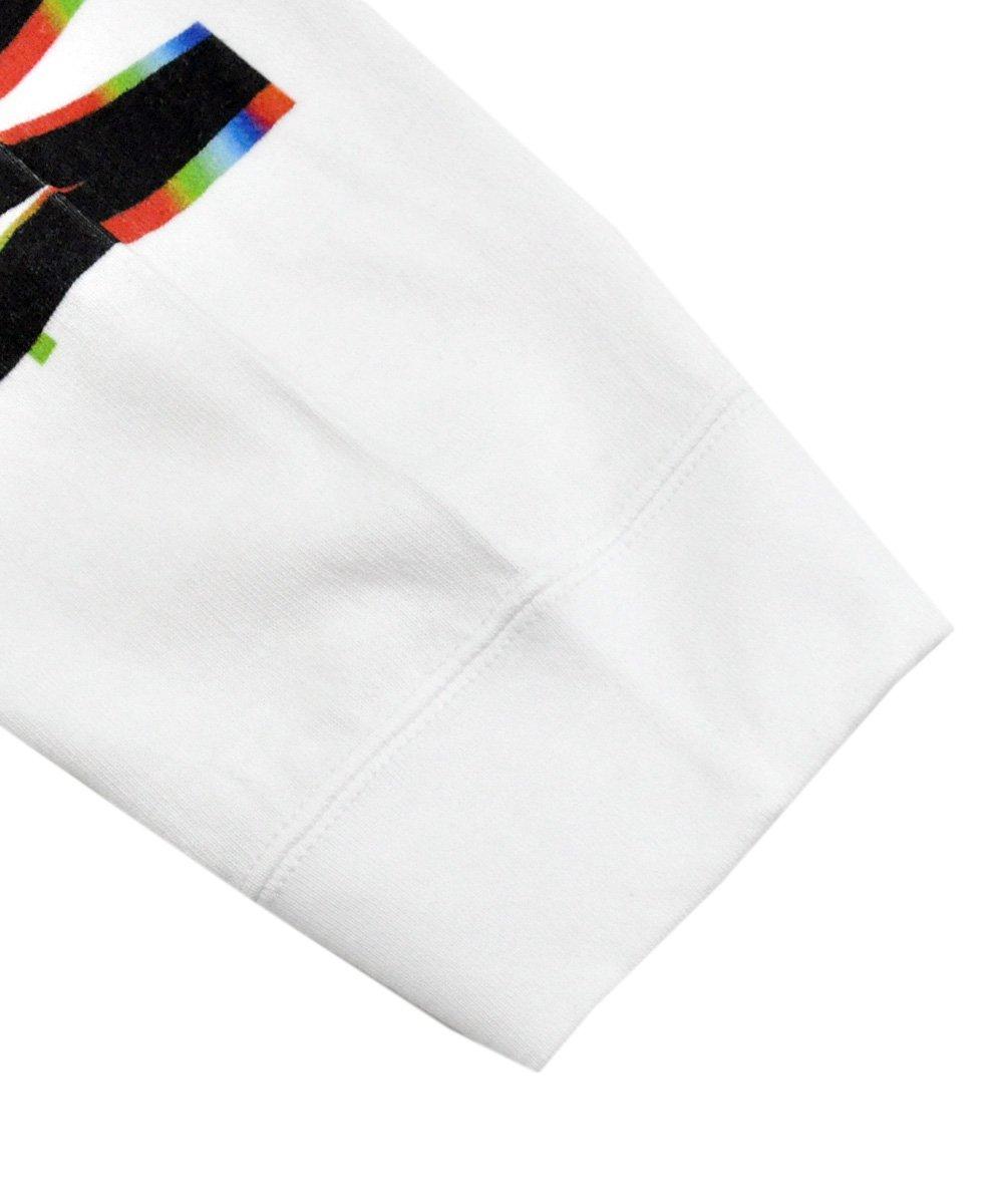 GRAPHIC PRINT LONG SLEEVE POCKET T-SHIRT / ホワイト [CDM-19W-0509]