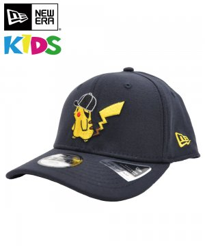 <img class='new_mark_img1' src='https://img.shop-pro.jp/img/new/icons5.gif' style='border:none;display:inline;margin:0px;padding:0px;width:auto;' />Kid's Youth 9FIFTY ストレッチスナップ ポケモン ピカチュウ キャップ / ネイビー [12110684]