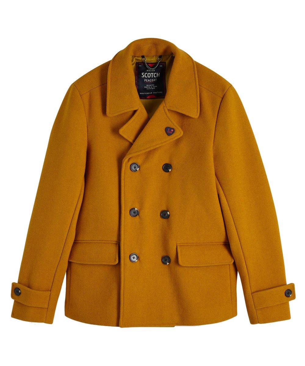 Classic Pea Coat / キャメル [292-81102]