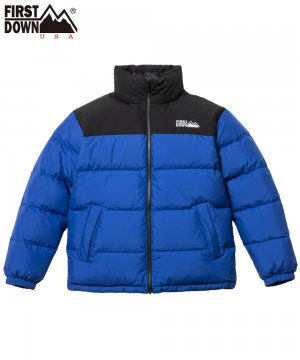 <img class='new_mark_img1' src='https://img.shop-pro.jp/img/new/icons5.gif' style='border:none;display:inline;margin:0px;padding:0px;width:auto;' />REVERSIBLE DOWN JACKET / ブルー×ブラック(70) [642500C]
