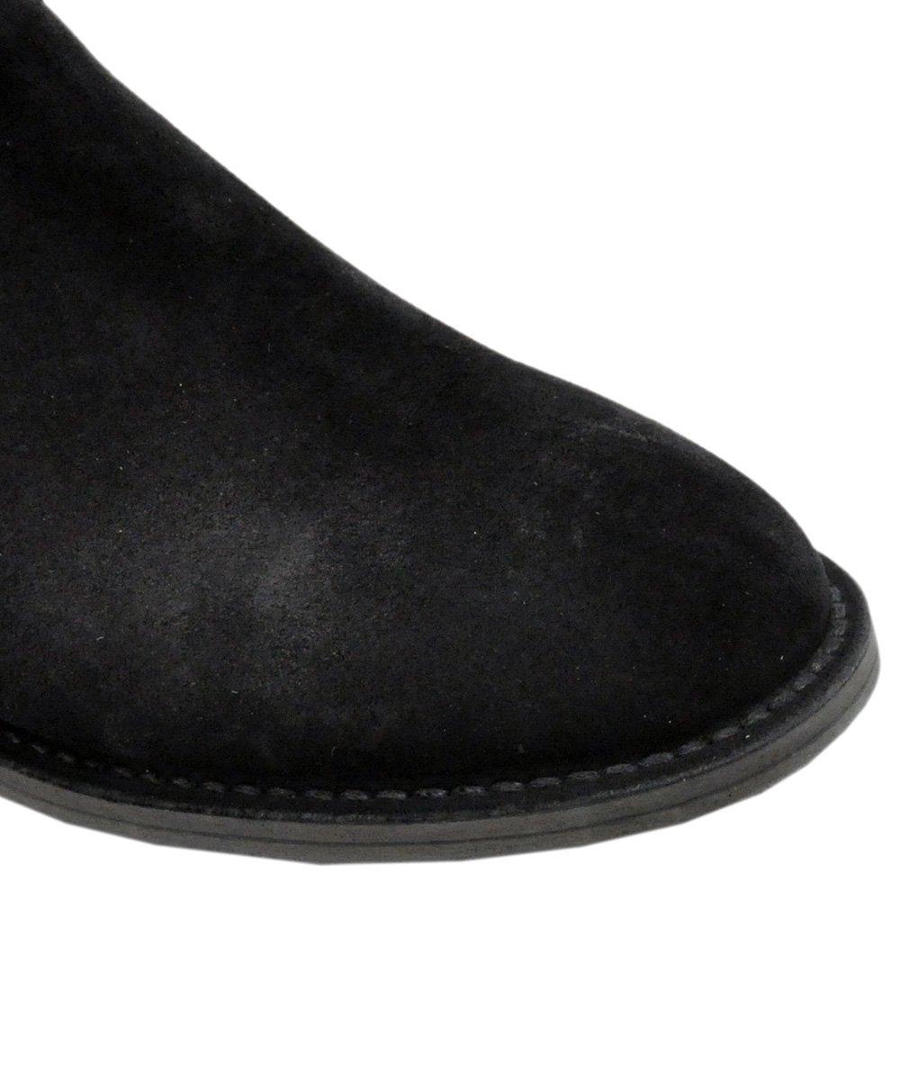 nonnative × MINEDENIM SIDE ZIP BOOTS / ブラック(BLK) [19NNT-002]