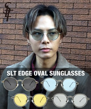 SLT EDGE OVAL SUNGLASSES / 4カラー
