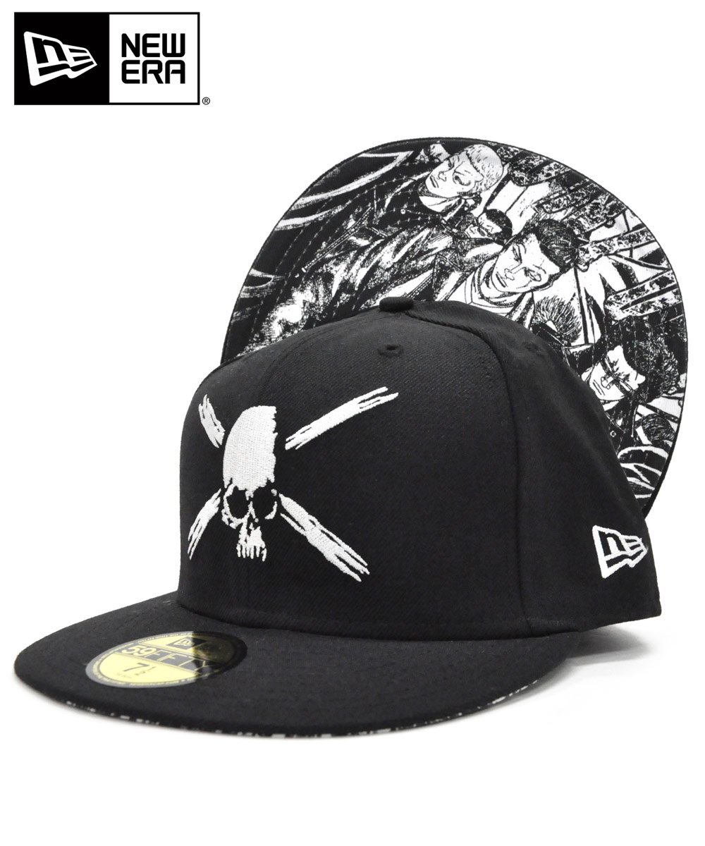 [OUTLET] 59FIFTY 武装戦線 五代目 / ブラック [N0006992]